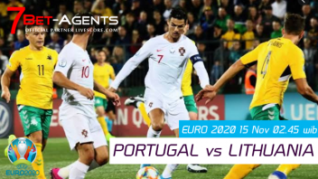 Live Streaming Portugal vs Lithuania, Kualifikasi EURO 2020